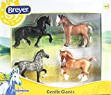 Breyer Stablemates Gentle Giants Four Horse Set