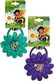 2 Piece Disney Fairies Hair Ponies Set - Girls Hair Accessories