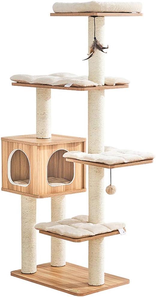 Árbol para Gatos Arañazo Gatos Juguetes De Sisal Natural ...
