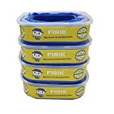 Refill Cassette Litter Genie Refills Compatible With Litter Genie Standard Refill Cartridge for Cat Litter Disposal System Pail - Large Capacity 21 Feet -  Pack of 4
