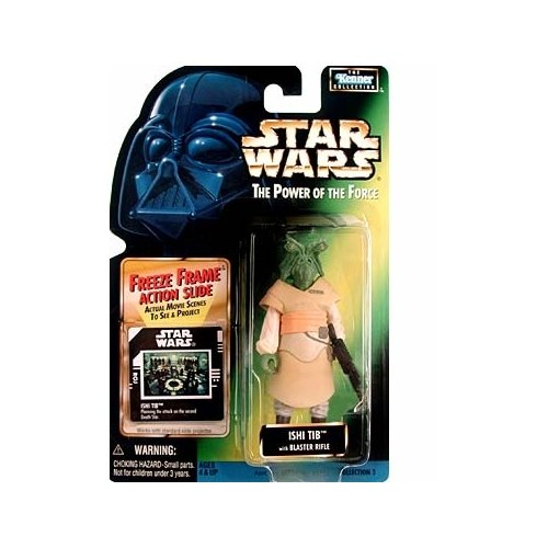 Star Wars, The Power Of The Force Freeze Frame, Ishi Tib Action Figure, 3.75 Inches