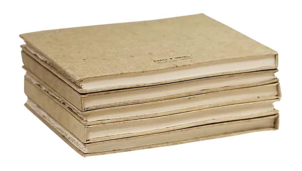 Khadi Handmade Hardback Book 21 x 25 cm White Smooth