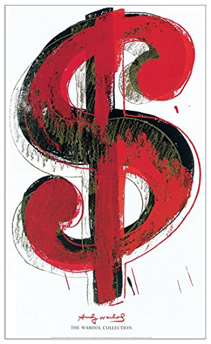 Artopweb EC18128 Warhol-Dollar Sign 1981