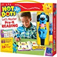Educational Insights Hot Dots Jr. Let's Master Pre-K Reading Set, Homeschool & Preschool Readiness, 2 Books & Interactive Pen, 100 Math Lessons, Ages 3+