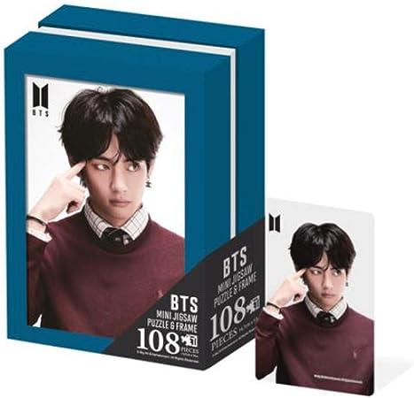 Kpop BTS V Jigsaw Puzzle, Unique Photo Frame Desk Decor Gift Souvenir