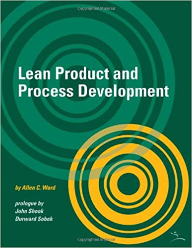 Amazon lean product and process development 9781934109137 amazon lean product and process development 9781934109137 allen c ward books fandeluxe Choice Image
