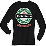 Football- Long Sleeve 49ers Beer Shirt - Sizes up to 6XL
