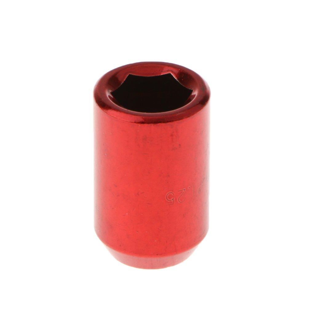 MagiDeal Lug Nuts Universel 31 mm Tuner 12x1.25 Verrouillage /Écrous de Voiture Auto Noir