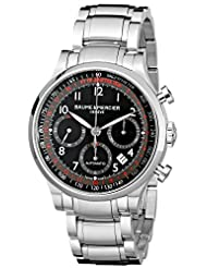 Baume & Mercier Men's MOA10062 Automatic Stainless Steel Black Dial Chronograph Watch by Baume & Mercier