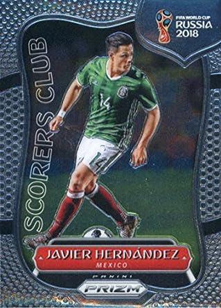 2018 Panini Prizm World Cup Scorers Club  13 Javier Hernandez Mexico Soccer  Card df6c8bc59