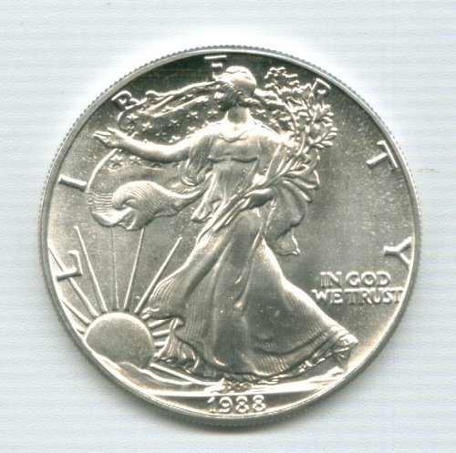1993 American Eagle Silver Dollar by Silver American Eagle Dollar