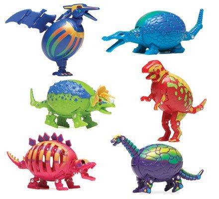 Hog Wild Dinosaur Puzzled Eggs - Triceratops -