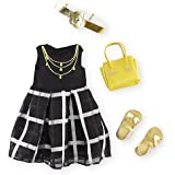 Journey Girls Doll Dress, Shoes, Purse and Headband Set