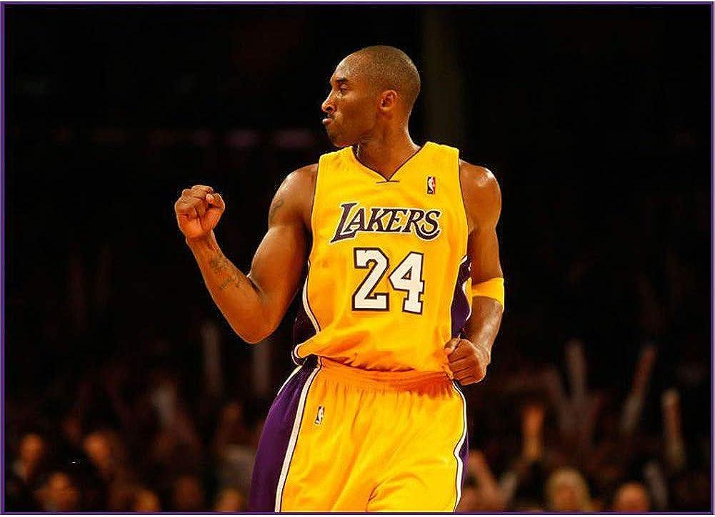 Lakers NO.24 Basketball Jersey und Shorts mit Herren Mesh Basketball Strumpfhose Training 4 Set VNBA Kobe Bryant Basketball Jersey