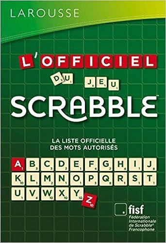 dictionnaire ods scrabble
