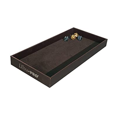 Ultra Pro Gaming Generic 84759 Dice Rolling Tray, Multi, One Size: Sports & Outdoors