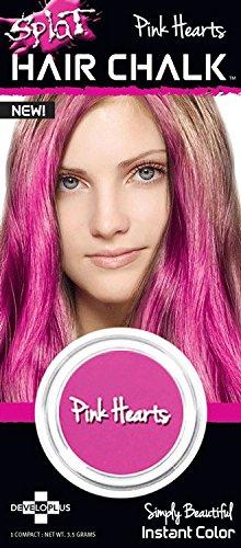 SPLAT Hair Chalk, Pink Hearts