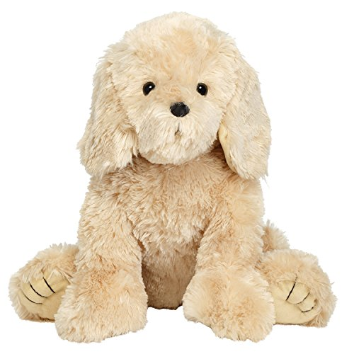 sh Stuffed Dog, Golden Cream, 15 Inches ()