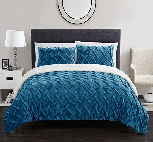 Chic Home Naama 3 Piece Comforter Set Ultra Plush Micro Mink