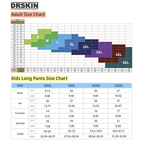 a474374eb6eae DRSKIN Compression Cool Dry Sports Tights Pants Baselayer Running Leggings  Yoga Rashguard Men (M,