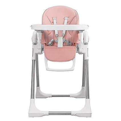 Yingercanyi Silla de comedor de bebé silla plegable plegable ...