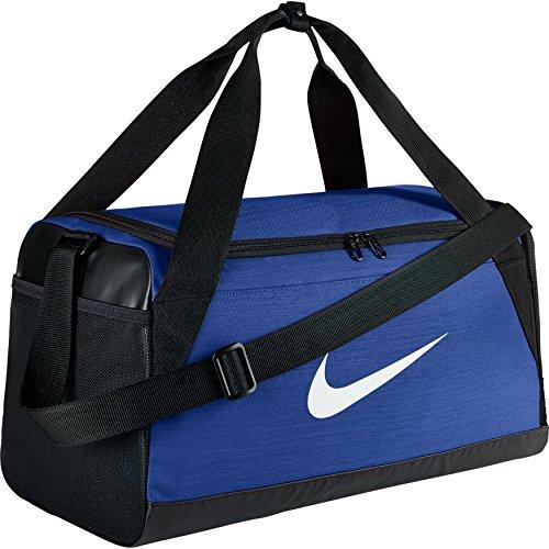 Nike Brasilia Training Duffle Bag Game Blue/Black/White,One Size