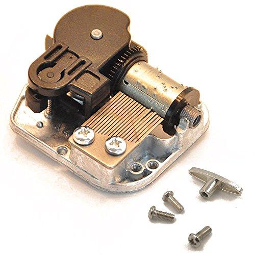 18 Note Windup Clockwork Mechanism DIY Music Box Musical Movement