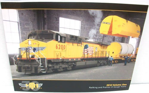 MTH 2010 V1 Railking & Premier O Gauge Trains Catalog (Gauge Catalog)