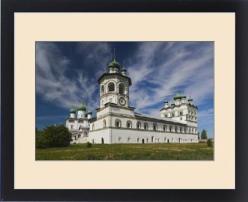 Framed Print of Russia, Novgorod Oblast, Veliky Novgorod, Nikola-Vyazhischi Convent by Fine Art Storehouse