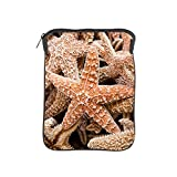 iPad 1 2 3 4 Air II Sleeve Case (2-Sided) Collection Of Starfish