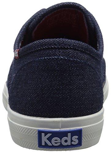 Keds Womens Triumph Denim Fashion Sneaker Indigo cmUsKB4kS