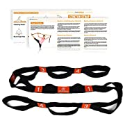 Amazon #DealOfTheDay: PROCIRCLE Yoga Stretch Strap with Loops - 4cm x 182cm- Cotton Yoga Strap for Hot Yoga, Physical Therapy, Greater Flexibility & Fitness Workout
