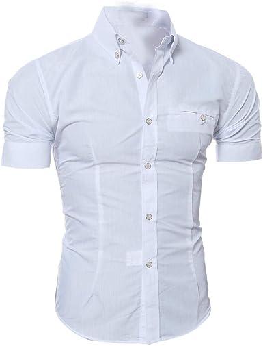 Camisa Polo De Los Hombres Solapa De Manga Corta Tamaños ...