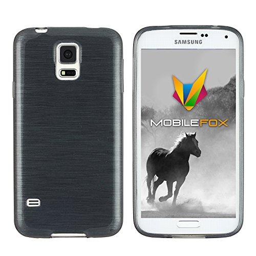 Mobilefox Paul Schutzhülle Soft Case Samsung Galaxy S5 mini Schwarz