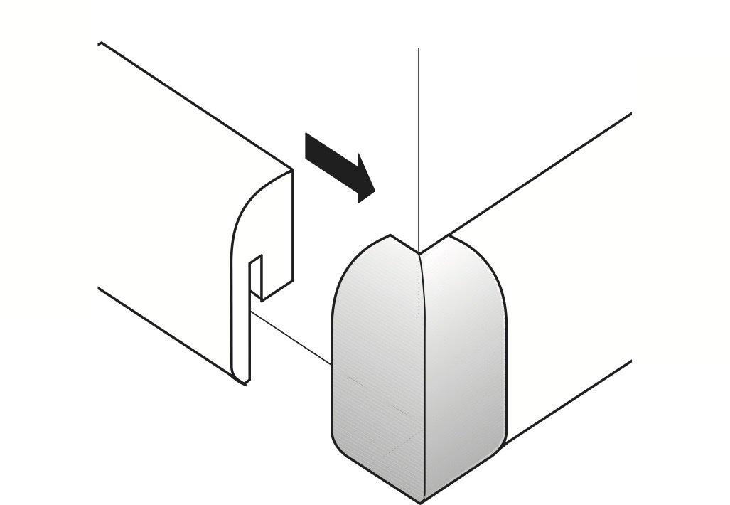 Parador Auß enecken fü r SL 2 Typ 2 Gold-Optik