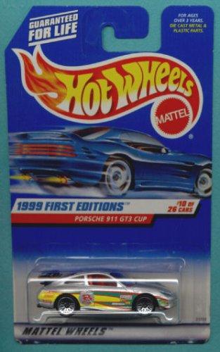Hot Wheels 1999: First Editions Porsche 911 GT3 CUP 1/64 scale (10 of 26) 10 Porsche 911 Gt3 Cup