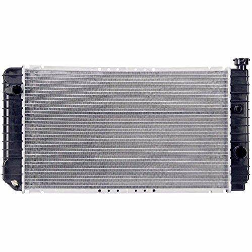 (Klimoto Brand New Radiator fits Chevrolet S10 Blazer GMC S15 Jimmy Sonoma 4.3L V6 W/O T.O.C & External Oil Cooler KLI1060)