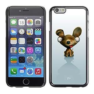 Carcasa Funda Case // V0000485 Funny 3D Animals - Dog // iPhone 6 4.7