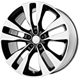 """Wheel Replicas V1167 Dodge Charger SRT8 Machined Face and Lip/Black Window (20x9""""/5x115mm)"""