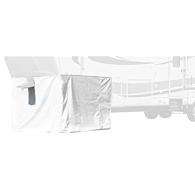 "Adco (3501) Polar White 64"" High x 236"" Length 5TH Wheel Skirt: Automotive"