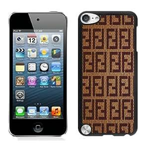 Popular Design Fendi Black iPod Touch 5 Protective Phone Case