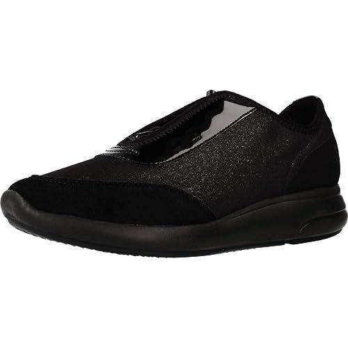 comment chercher sur les images de pieds de fabrication habile Geox Basket, Couleur Noir, Marque, modèle Basket D941CB Noir ...