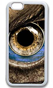 Eyes Art Thanksgiving Halloween Masterpiece Limited Design TPU White Case for iPhone 6 Plus by Cases & Mousepads