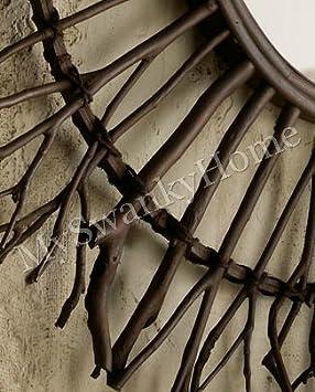 Amazon.com: extragrande rama de abedul madera Sunburst ...