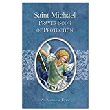 """St. Michael Prayer Book of Protection. Size: 3.125"""" W x 5"""" H."""