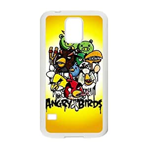 Angry Birds Samsung Galaxy S5 Cell Phone Case White JN8K8270