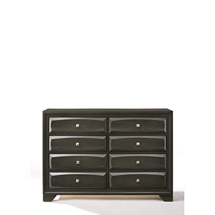 Amazon.com: Benzara BM185466 Wooden Dresser with Eight ...
