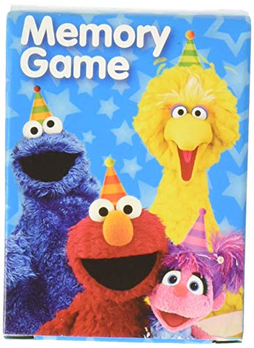 (Memory Game Favor   Sesame Street Collection   Party Accessory )