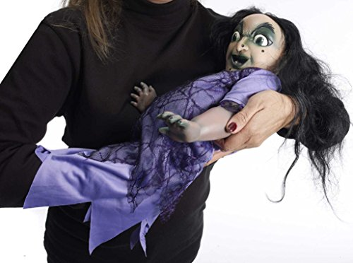 [Forum Novelties Witch Baby Doll, Multicolored] (Creepy Doll Halloween Costume)