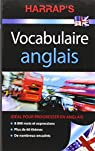 Harrap's Vocabulaire anglais par Harrap's